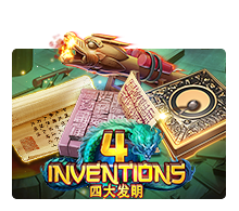 Joker Slot - The 4 Inventions